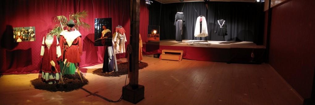 Probenraum mit Bühne